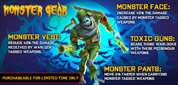 Monster Gear from Facebook