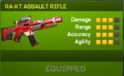 RA-KT Assault Rifle