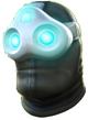 Cyber ninja helmet
