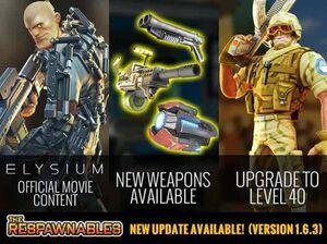 Elysium Update
