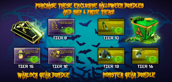 Halloween bundles from Facebook