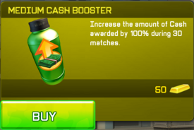 Medium Cash Booster