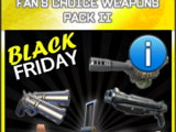 Fan's Choice Weapons Pack 2