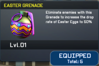 Easter Grenade View