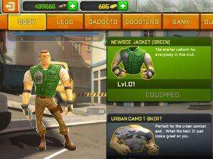 Newbie jacket green image
