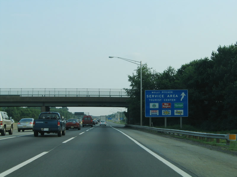 New Jersey/New Jersey Turnpike/Molly Pitcher | Rest Stops and