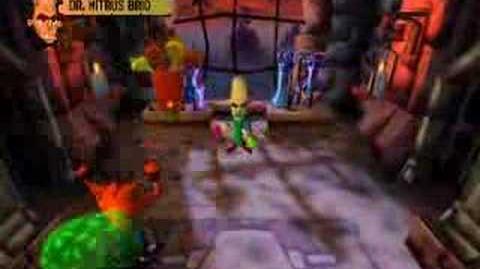 Crash Bandicoot Boss 5 - Nitrus Brio