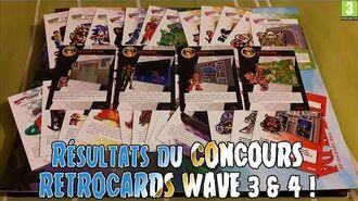 Résultats du CONCOURS RETROCARDS WAVE 3 & 4 !