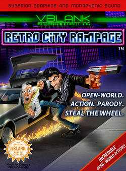Retro City Rampage cover
