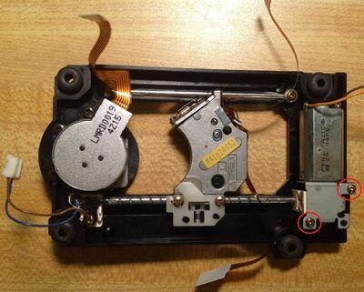 3DO FZ10 laser repair screws