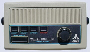 Atari Video Pinball C-380
