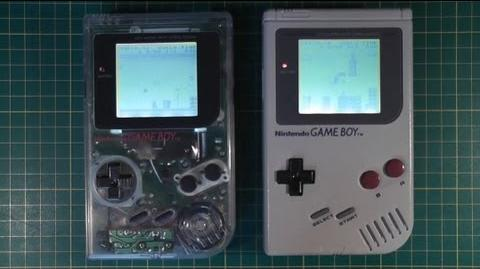 Original DMG GameBoy Backlight Mod - Retrofit - Screen Kit - Nintendo Classic