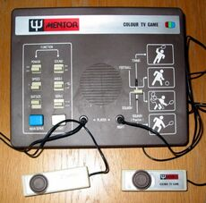 Mentor Colour TV Game
