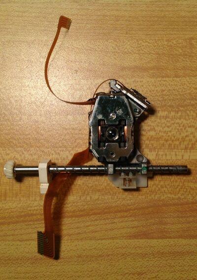 3DO FZ10 laser repair 4