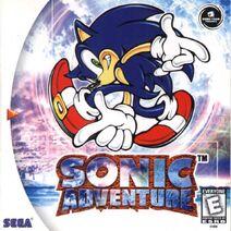 Sonic adventure dc poster