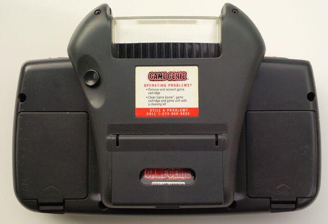 File:Game Genie Sega Game Gear rear attached.jpg