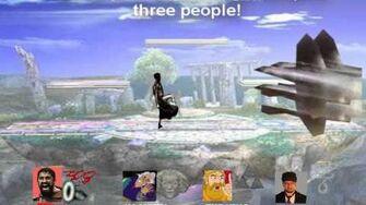 Smash Bros Lawl Character Moveset - Leonidas