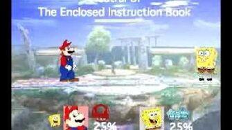 Smash Bros Movesets-Toon Mario