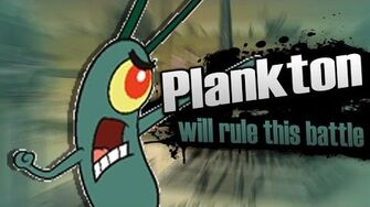 Smash Bros lawl X Character Moveset - Plankton