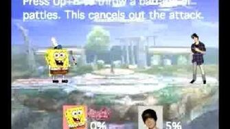 Smash Bros Movesets-Spongebob