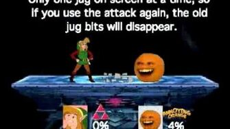 Smash Bros Lawl Moveset-CD-I Link-0