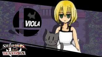 Smash Bros Lawl Beatdown Character Moveset- Viola