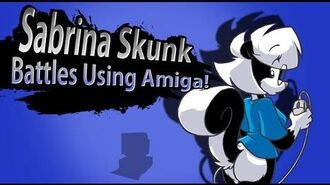 Smash Bros Lawl MAD Character Moveset Sabrina Skunk