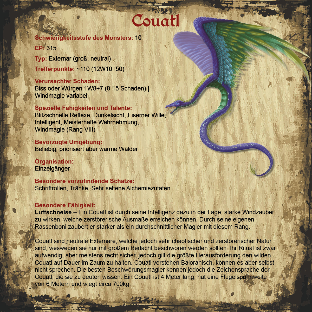 Couatl | Revaria Wiki | FANDOM powered by Wikia