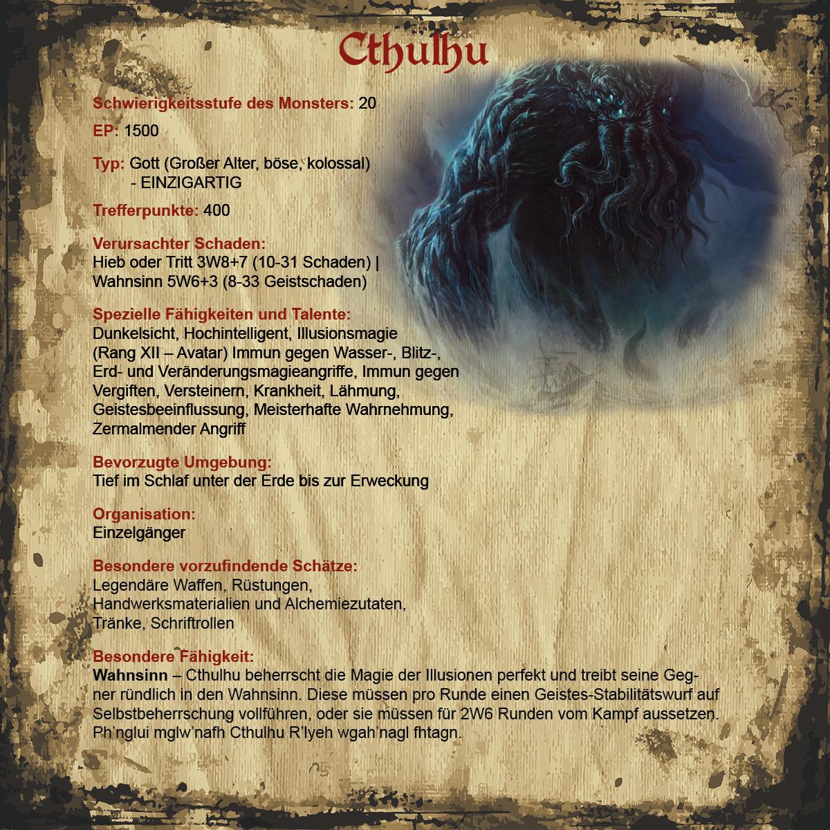 Cthulhu | Revaria Wiki | FANDOM powered by Wikia