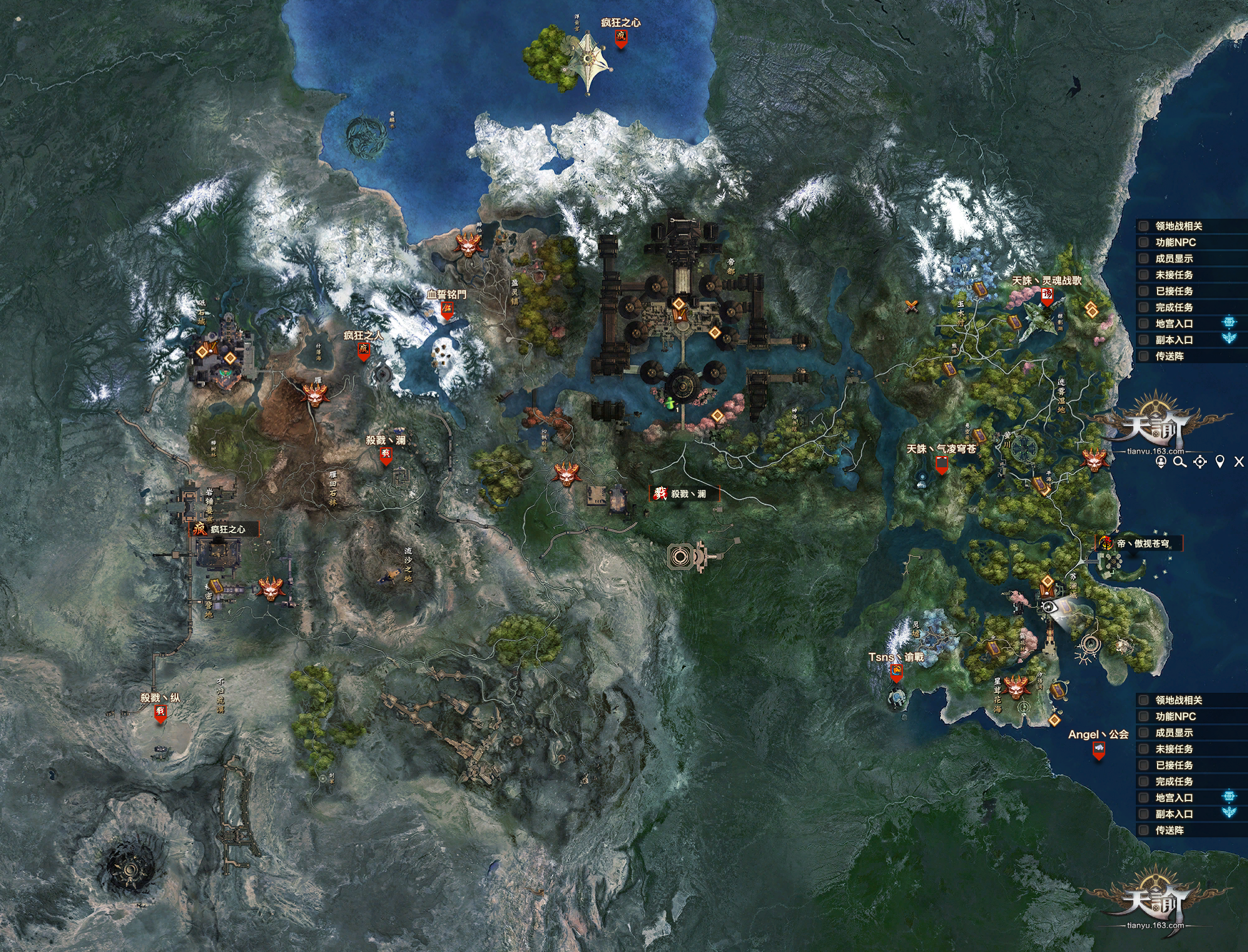 Map revelation online wikia fandom powered by wikia revelations online world map gumiabroncs Choice Image