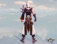 Blademaster Coustume (lv49) Back View