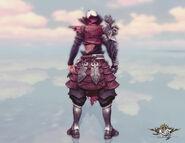 Blademaster Coustume (lv69) Back View (male)