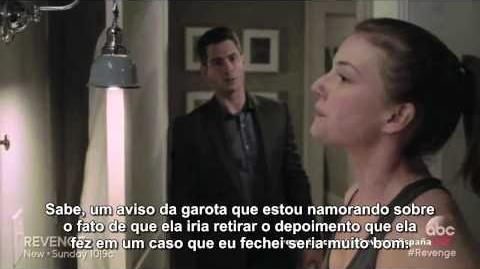 "Revenge - 4x18, ""Clarity"" (sneak peek legendado)"