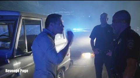 "Revenge 4x16 Ending Scene Jack Arrested ""Retaliation"" Emily and Ben"