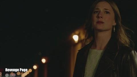 """Revenge 4x20 'Burn"""" Emily Cries as She Missed Jack in Airport"""