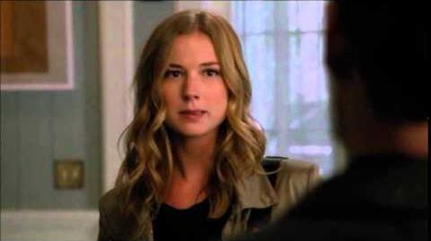 Revenge 4x07 Emily First Talk with David Clarke
