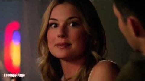 "Revenge 4x14 Emily and Ben Bar Scene She Asks for Advice ""Kindred"""