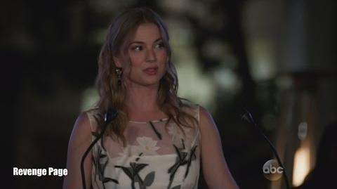 "Revenge 4x18 Ending Scene Emily Tells Who She Really Is ""Clarity"""