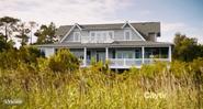 Strandhaus-Vorderseite