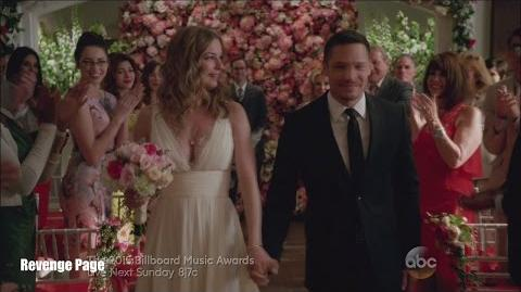 """Revenge 4x23 Emily and Jack Wedding """"Two Graves"""" Series Finale"""