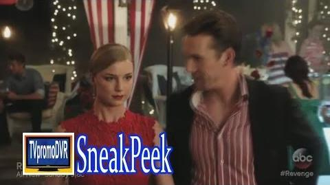 "Revenge 3x07 Sneak Peek 1 ""Resurgence"" Emily & Daniel and His Ex"