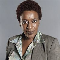 CCH Pounder behind the voice actors