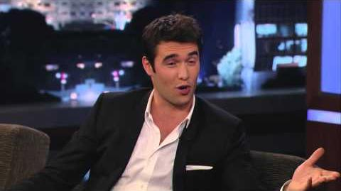 Josh Bowman on Jimmy Kimmel Live PART 1