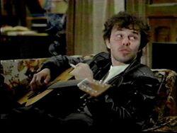 Booger on guitar