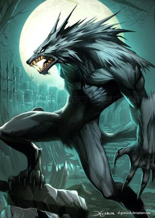 Werewolf 2 by el grimlock