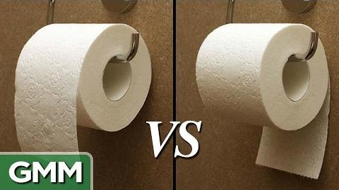 Toilet Paper- Over or Under?
