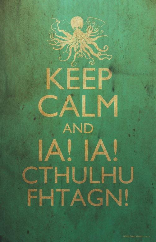 Cthulhu keep calm