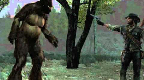 Red Dead Redemption Bigfoot (Sasquatch) Hunting Footage - BIGFOOT SPEAKS