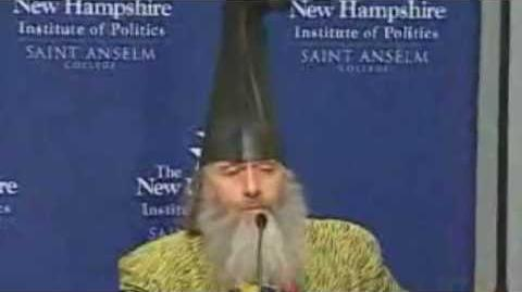 Vermin Supreme When I'm President Everyone Gets A Free Pony