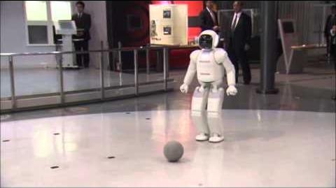 Raw Obama Plays Soccer With Japanese Robot